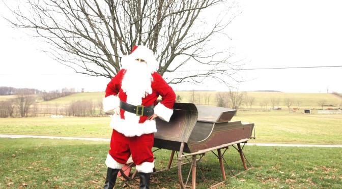 Being Santa