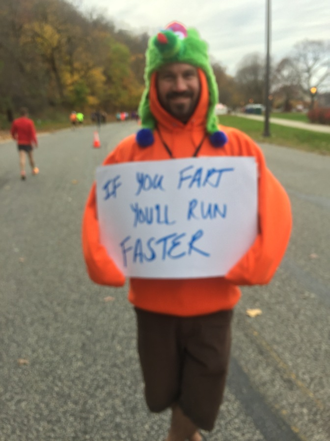 14 Best Signs from Philadelphia Marathon, Kelly Drive Edition